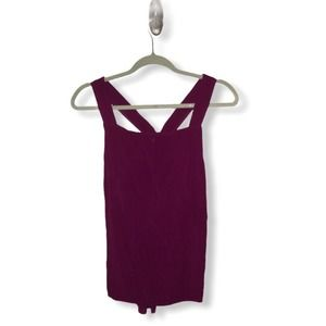 Michael Stars fuchsia pink sleeveless top XS